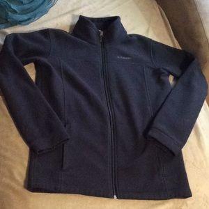 Columbia full zip fleece jacket